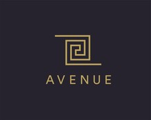 Luxury, Fashion Business Logotype Symbol Icon.