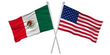アメリカ メキシコ  国旗 アイコン