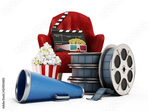 komputerowe-kinowe-znaki-rozpoznawcze-fotel-popcorn-film-na-bialym-tle