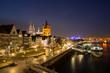 Kölner Dom mit Altstadt und Groß Sankt Martin