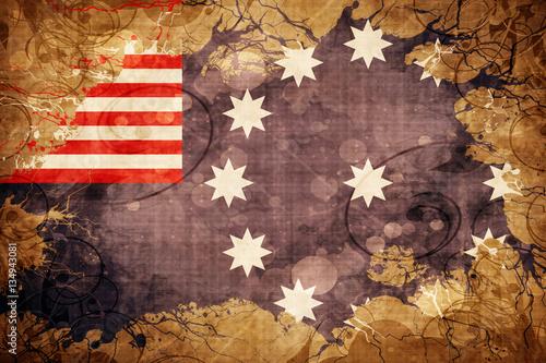 Fotografie, Obraz  Vintage Easton flag