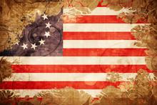 Vintage Betsy Ross American Ea...