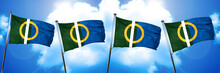 Caine Flag, 3D Rendering