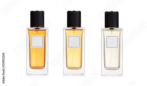 Fotografía  Three perfume bottles