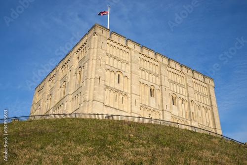 Leinwand Poster Norwich Castle