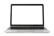 canvas print picture - Laptop computer with white screen