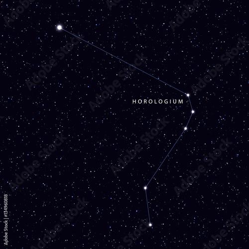 Horologium Constellation
