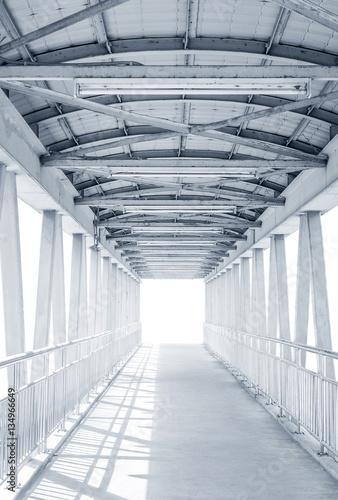 Fototapeta Metalowy most