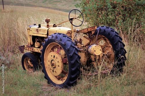 Fototapety, obrazy: Tractor 4