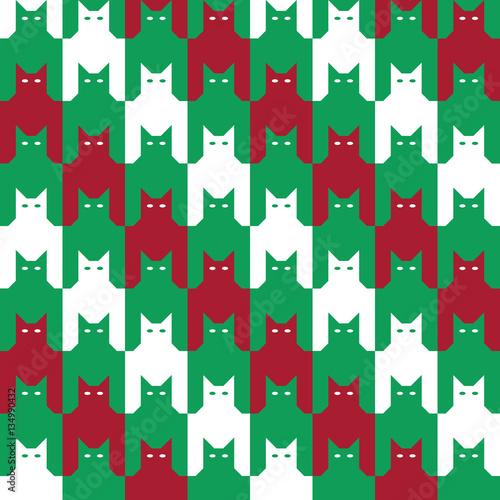 Photo  Catstooth Pattern
