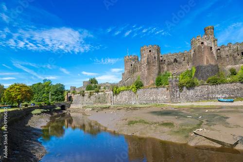 Foto op Plexiglas Historisch geb. Conwy Castle in Wales