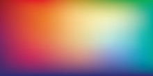 Rainbow Gradient Mesh Blurred ...