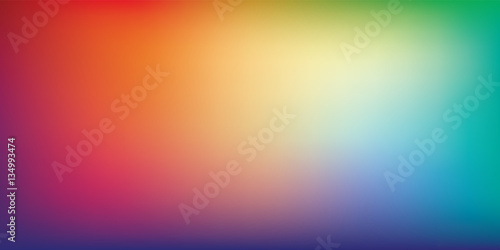 Photo  Rainbow Gradient Mesh Blurred Background