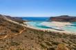 Balos beach. The west coast of the peninsula Gramvousa. The island of Crete. Greece.