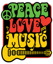 Rasta Peace Love Music