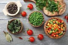 Verdure Congelate Spezie Ed Aromi Naturali