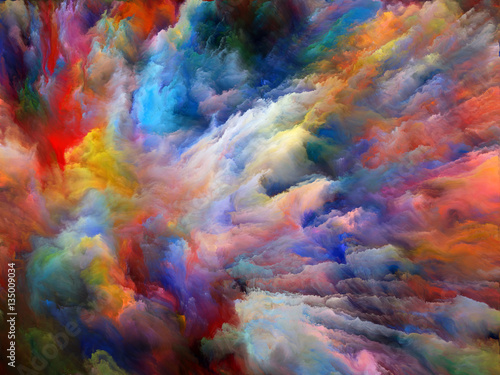 Tablou Canvas Color Explosion