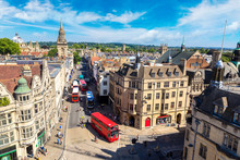 Panoramic Aerial View Of Oxford