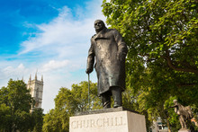Statue Of Winston Churchill In...