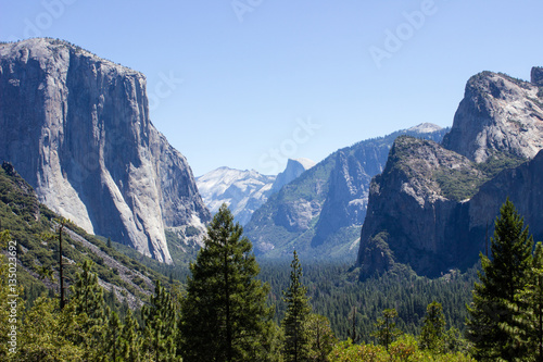 Yosemite Valley, Tunnel View Poster