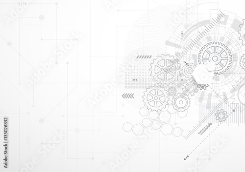 Abstract technology background © royyimzy