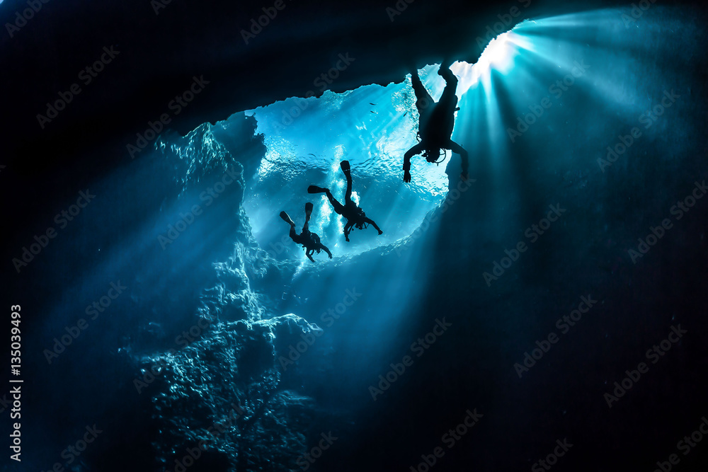 Fototapeta Diving Gozo Malta