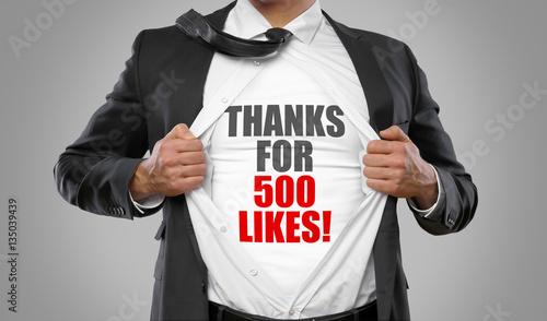 Tela  Thanks for 500 Likes