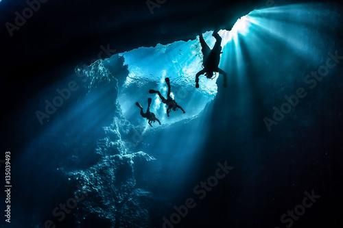 Fotografie, Obraz  Diving Gozo Malta