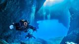 Fototapeta Fototapety do łazienki - Diving Gozo Malta