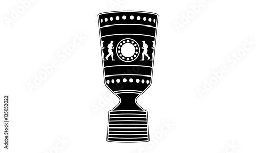 Pictogram German Cup Trophy Vektor Deutscher Fussball