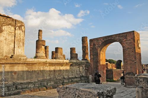 Foto op Aluminium Rudnes Pompei, resti e rovine dell'antica città romana