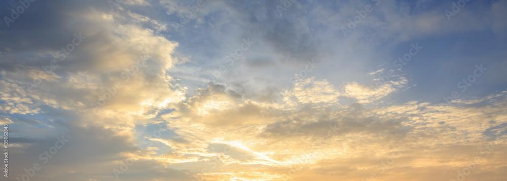 Fototapety, obrazy: Sky sunset backgeound
