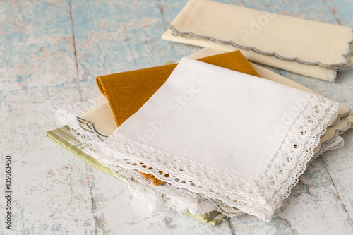 Canvas Print Handkerchiefs