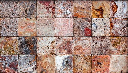 In de dag Stenen travertine stone texture Termolit wall tiles, slate background
