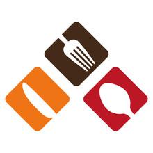 Color Cutlery Icon Image Design, Vector Illustration