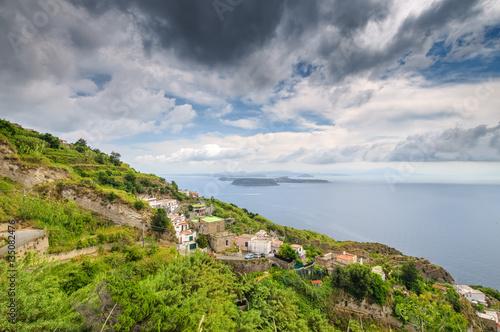 Cuadros en Lienzo Aerial scenic view, Ischia Island, Italy
