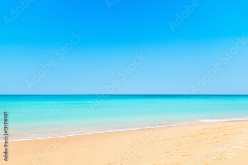 Poster Tropical plage Beach