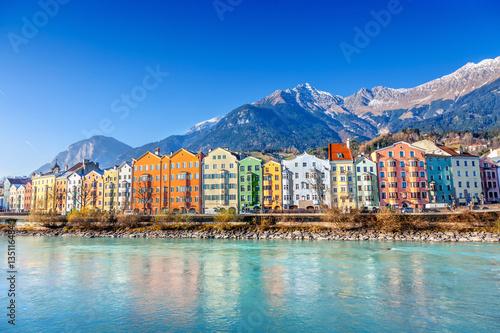 Fotografie, Tablou Innsbruck cityscape, Austria