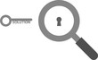 Magnifier and solution key