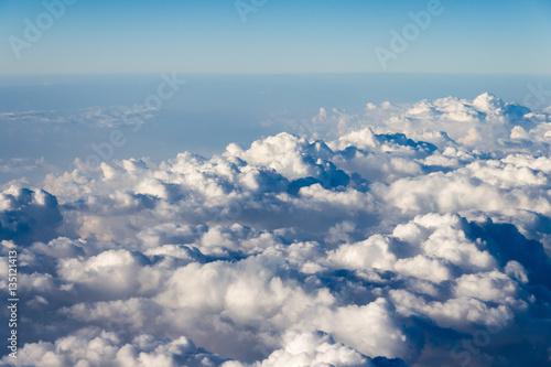 Wall Murals Heaven Wolken von oben / aus dem Flugzeug(fenster) Himmel Atmosphäre
