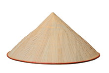 Chinese Conical Isolated Hat