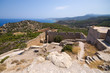 Kritinia castle on Rhodes island, Greece