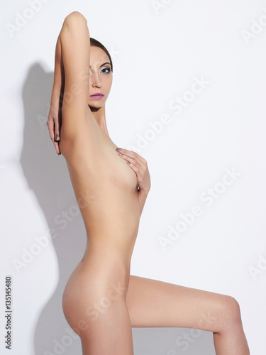 nude body young woman