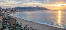 Benidorm Bay At Costa Blanca S...