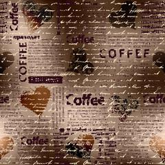 Tapeta coffee brown pattern