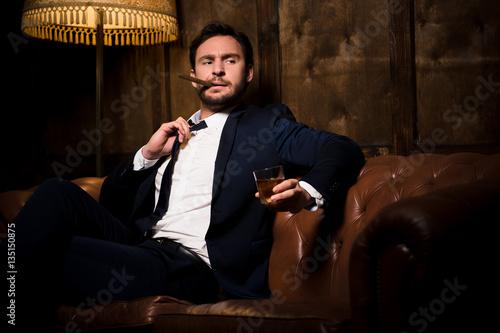 the millionaire man