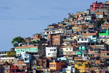Brazilian Favela, Rio De Janeiro