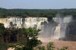 The Iguazu Falls, Iguassu Falls, Portuguese: Cataratas do Iguaçu are waterfalls of the Iguazu River on the border of the Argentine province of Misiones and the Brazilian state of Paraná.