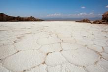 Salt Pan In Danakil Depression...