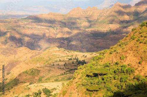 Foto op Plexiglas China Simien Mountains National Park - UNESCO World Heritage Centre - Ethiopia